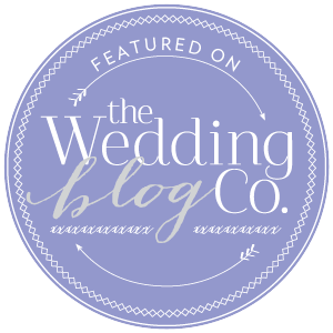 featued on The Wedding Blog Co.